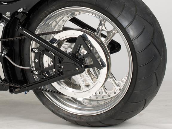 Harley Davidson Pulleys on V Belt Rod