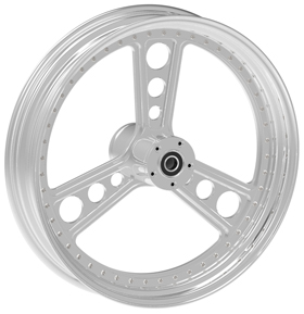 Three Spoke Custom Motorcycle Wheels