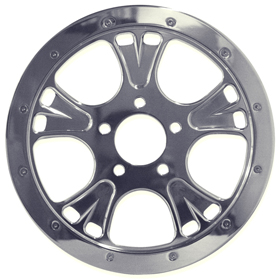 Bat Motorcycle Pulley for Harley's