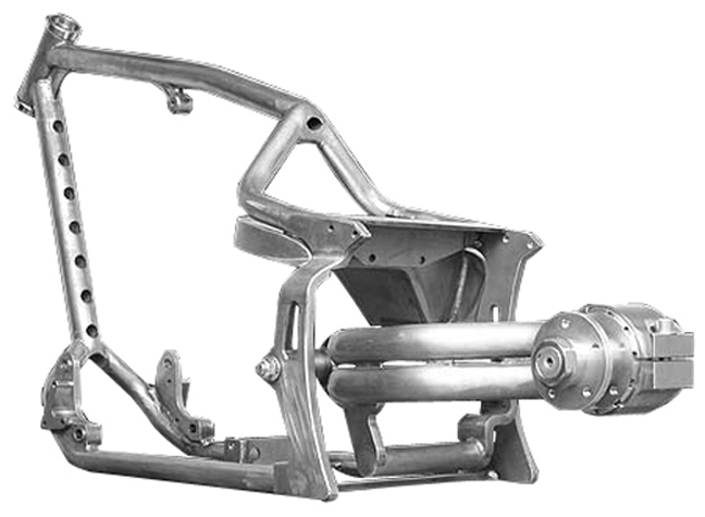 harley single sided swingarm 8