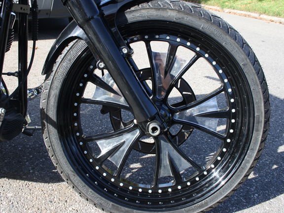 harley wheel 8