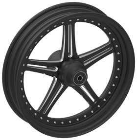 Five Spoke Custom Motorcycle Wheels