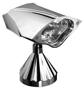 headlight 3D cobra - billet aluminum - polished
