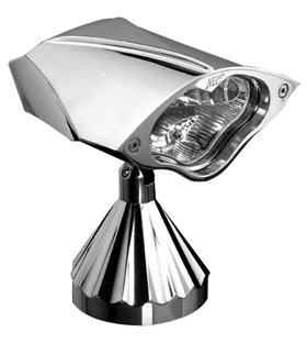 headlight 3D cobra - billet aluminum - polished