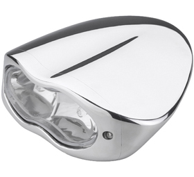 headlight 3D polished