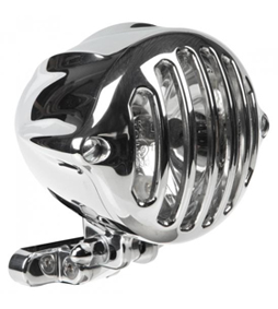 headlight alcatraz polished - polished grill