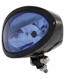 headlight cronus with mount black - blue headlamp