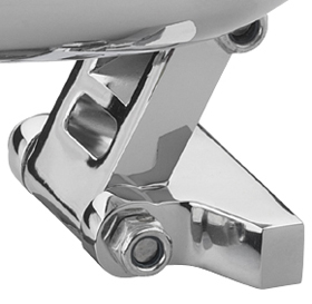 headlight mount cyclops chromed universal
