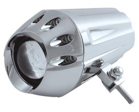 headlight uranus with mount chromed