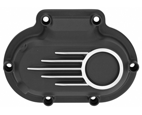 hydraulic clutch cover unbreakable black with CNC machined details