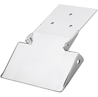 license plate bracket polished for v-rods 2002-05