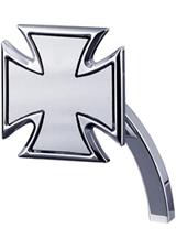mirror maltese left chromed