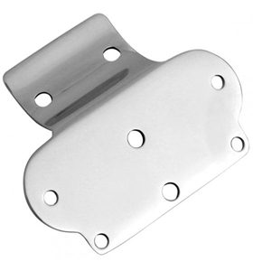 mounting bracket stainless steel for one inch bars for Micro digital speedo and LED unit