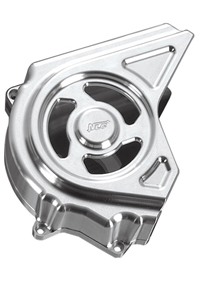 pulley cover for v-rod's, night-rod's, street-rod's, muscle's - polished