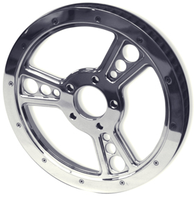 Three Spoke Pulley for V-Rod
