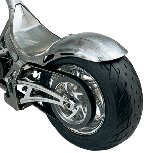 rear fender - pre-welded to drag style and le mans frames
