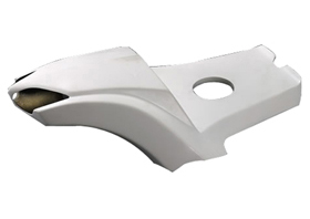 rear fender stealth with taillight, seat base and mounting kit for 2007-up models