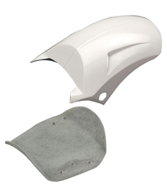 rear fender turbo with seat base and mounting kit for pre-2006 models