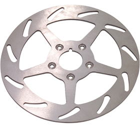 rotor slotted 8 left