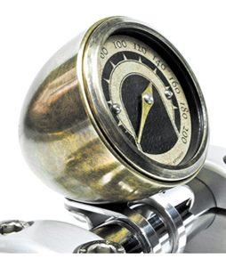 speedo housing de luxe for mini speedometers brass