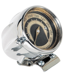 speedo housing ring for mini speedometers polished - polished ring