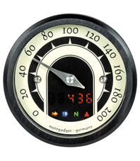speedometer mini speedster