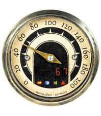 speedometer mini vintage
