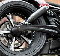 swingarm kit for up to 300 tires for v-rods 2007-up black