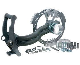 swingarm single-sided conversion kit 330 tire on 17x12.5 rim - 1 axle - for drag style and le mans frames