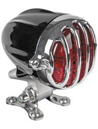 taillight alcatraz black - polished grill