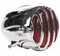 taillight alcatraz polished - polished grill