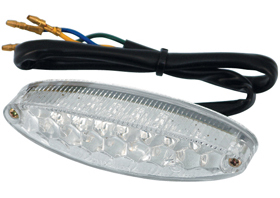 taillight ice LED unit with clear lens