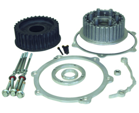 transmission offset kit for up to 330 tires - 55mm offset - for 2007 twin cam softail