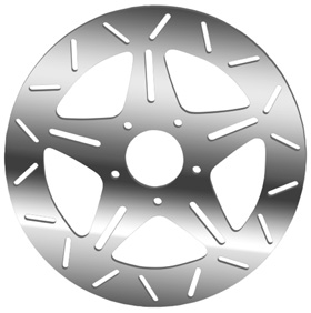 Five Spoke Rotors for V-Rod