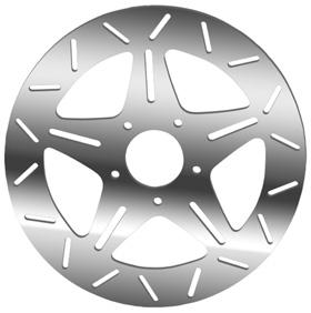 Five Spoke Rotors for V-Rod