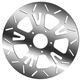 Bat Rotors for V-Rod