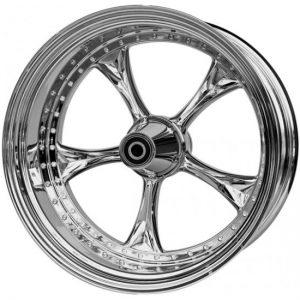 wheel 3D lowrider 18x10.5 polished for v-rod - single flange