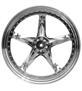 wheel 3D open mind 23x4.5 polished - dual flange