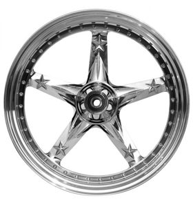 wheel 3D open mind 23x4.5 polished - single flange