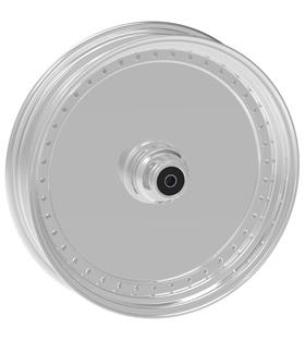 wheel blank design 17x12.5 polished for v-rod - dual flange