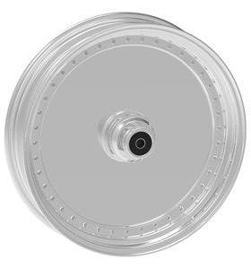 wheel blank design 21x2.5 polished - dual flange