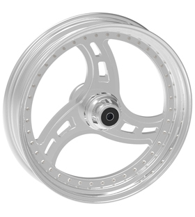 wheel cobra design 18x12 polished - dual flange
