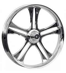 wheel daytona 26x3.75 polished - dual flange