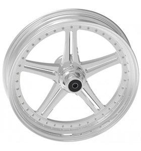 wheel magnum design 17x12.5 polished - dual flange