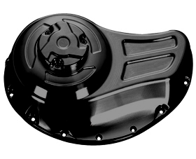 clutch cover solid for v-rod's, night-rod's, street-rod's - black