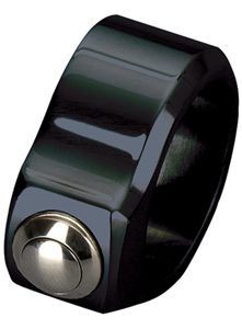 hand controls super-smooth switch clamp 1-button black