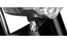 headlight bracket for 3D fork polished