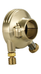 throttle housing retro brass satined