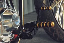vintage forward controls black