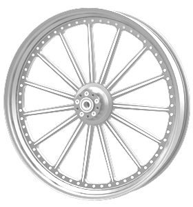 wheel spoke 26x3.75 polished - dual flange